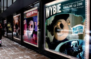 Caroline Interactive Window Display 2009 created by Inwindow Outdoor