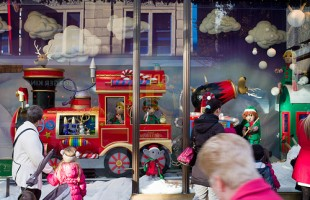Fenwick Christmas Window Display 2012