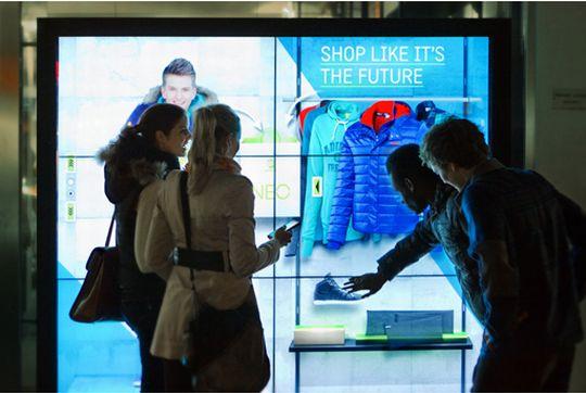 adidas neo - window - shopping - display 2012 um tbwahelsinki beste