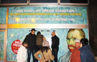"Vincent van Gogh ""My Dream Exhibition"" 3D Animation Display at Beurs van Berlage"