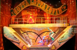 "Bloomingdale's ""Cirque du Soleil: Worlds Away"" Holiday Window Display 2012"