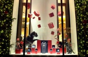 Cartier Interactive Holiday Window Display 2012 by Zigelbaum + Coelho