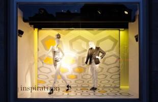 de Bijenkorf Inspirat140n Window Display 2010