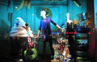 de Bijenkorf Christmas Window Display 2012