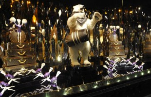 Galeries Lafayette Christmas Window Display 2012 in 3D