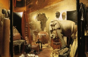 Hermès Africa Window Display of Fall 1997