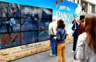 Taking A Picture With 'Rango' Interactive Display 2011 by Inwindow Outdoor