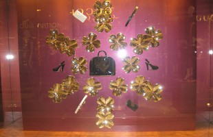 "Louis Vuitton ""Lucky"" Winter Window Display 2012"