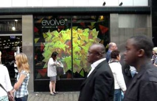 Nike's Interactive Window Display 2011 by MediaZest