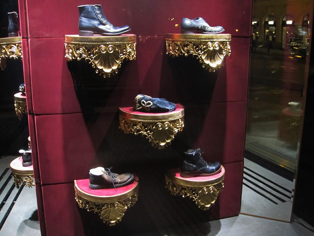 791fd93b0f6 Dolce   Gabbana Mirror Window Display in Prague - Best Window Displays