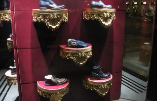 Dolce & Gabbana Mirror Window Display in Prague