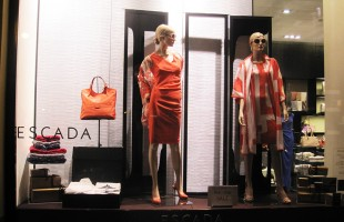 ESCADA Pre-Fall Sale Window Display 2012 in Prague