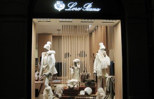 Loro Piana Winter Window Display 2012