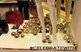 "Michael Kors ""Celebrate With"" Holiday Window Display 2012"