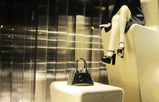 PRADA Steps Winter Window Display 2012