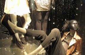 "Bershka ""Falling Diamonds"" Window Display"