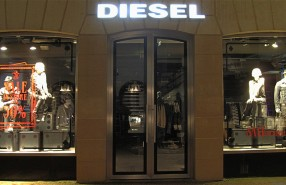 DIESEL Cards SALE Window Display 2012
