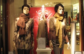 Marc Cain Winter SALE Window Display 2012