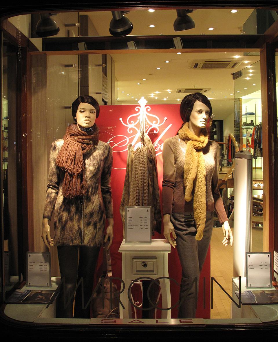 marc cain winter sale window display 2012 best window displays. Black Bedroom Furniture Sets. Home Design Ideas