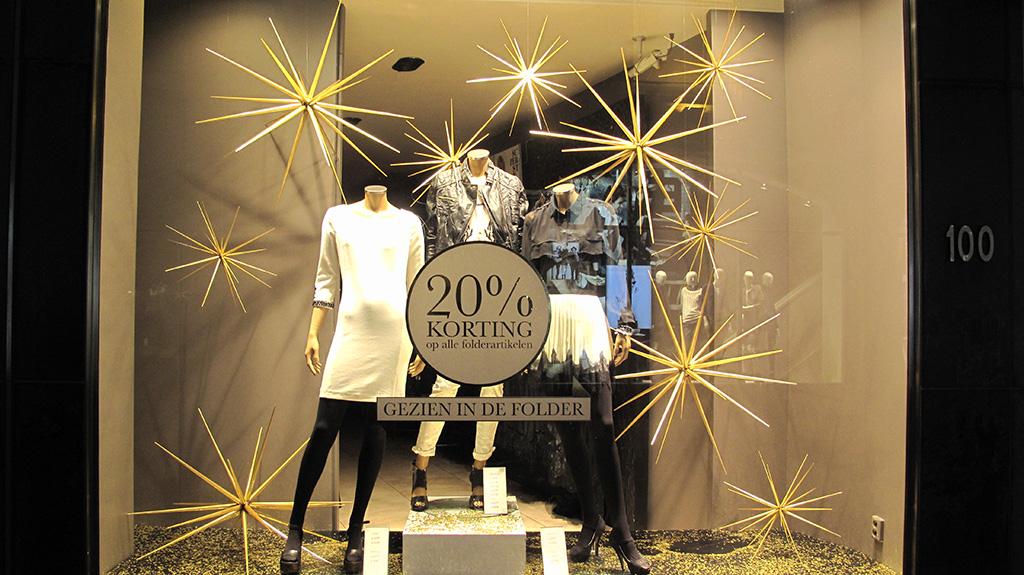 "SUPERSTAR ""Spiky Stars"" Holiday Window Display - Best ..."