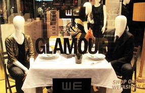 "WE Fashion ""WE are family"" Window Display In Collaboration With Glamour"