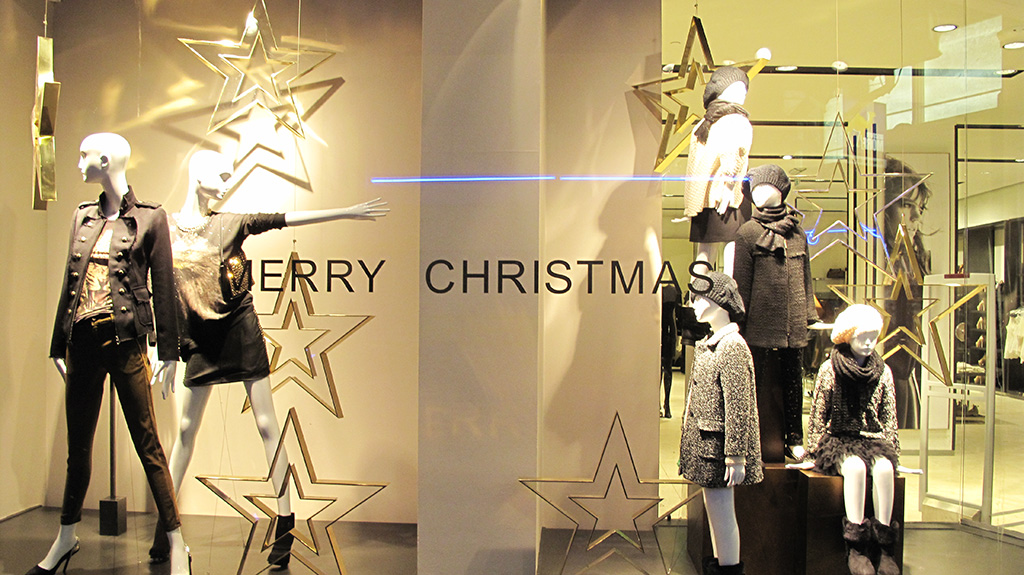 Zara Starry Merry Christmas Window Display Best Window