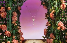 Tiffany & Co 'Secret Garden' Spring Window Display