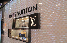 Louis Vuitton Ornaments Spider Web Window Display
