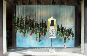 Anthropologie Earth Day Window Display 2013