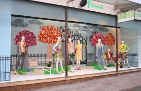 "Fenwick ""A Walk in the park"" Spring Window Display 2013"