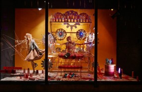 Harvey Nichols Fashion Factory Spring Window Display 2013