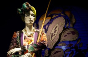 Holt Renfrew Eastern Passages Spring Window Display 2013