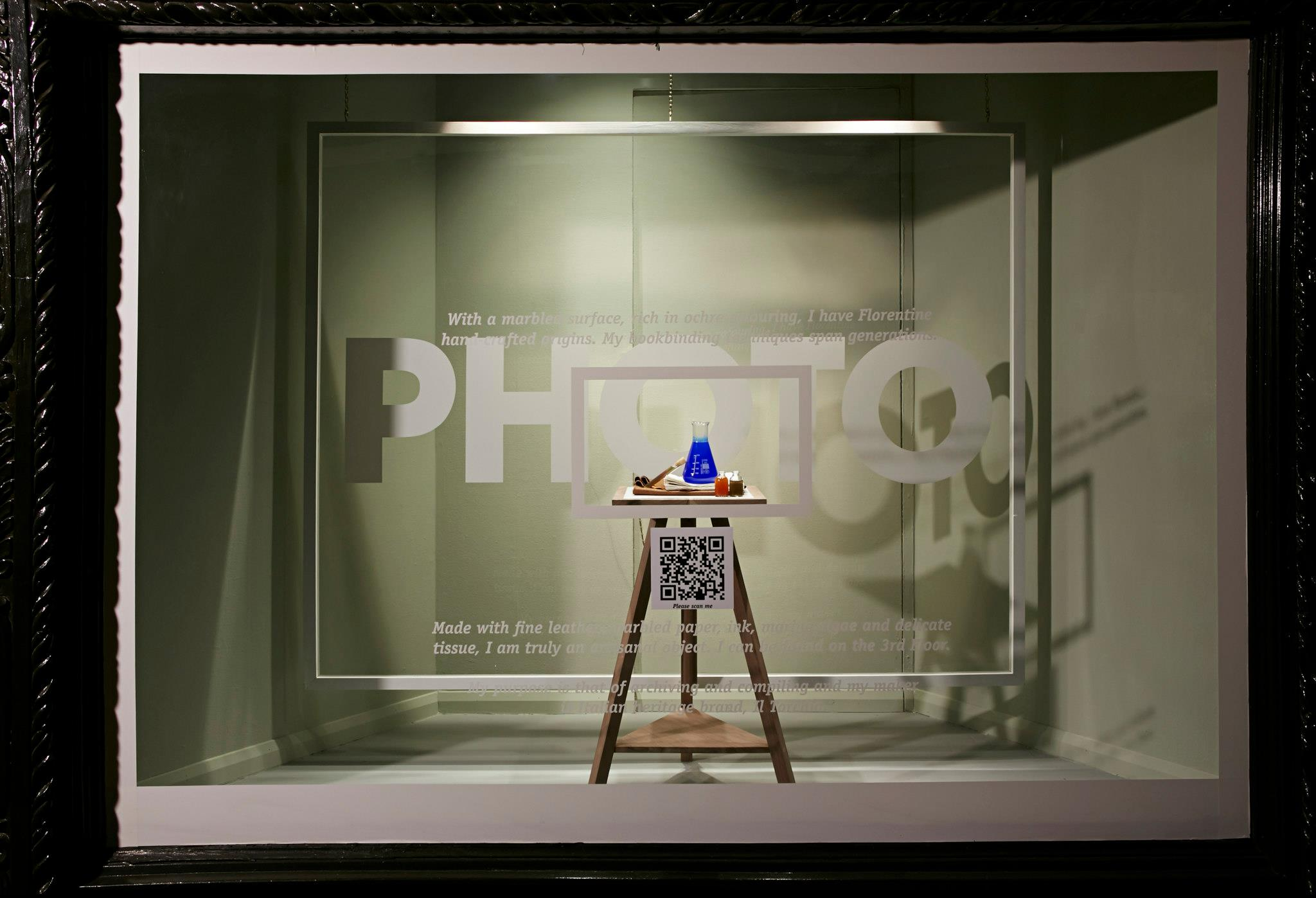 Interactive 39 scan to see 39 window display at liberty london for Show window designs