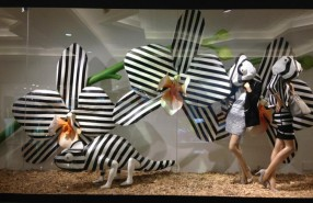 'Sound & Vision' Spring Window Display at Harvey Nichols Dubai