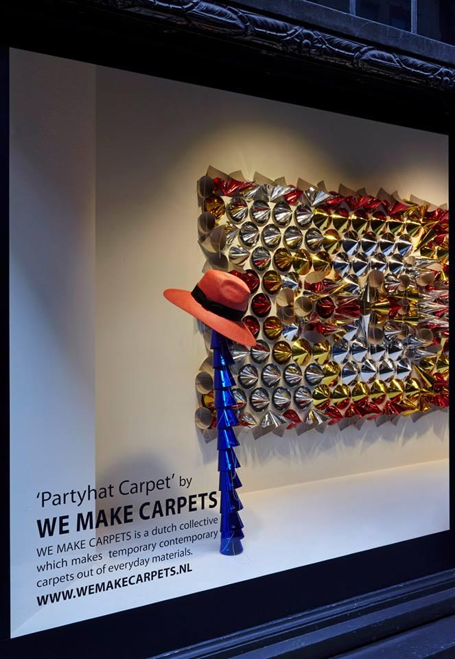 Liberty Carpets Window Display At Liberty London By We