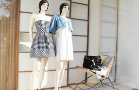 Chanel 'Japanese Wooden' Summer Window Display 2013