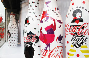Coca-Cola Light 'Sparkling Together' Limited Edition by Marc Jacobs at de Bijenkorf