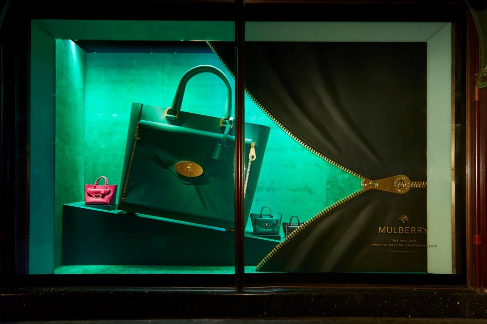 The handbag narratives at harrods best window displays for Window brands