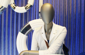 Hugo Boss 'Nautical Theme' Window Display