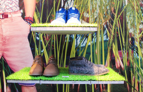 River Island 'Hot Tropic' Window Display