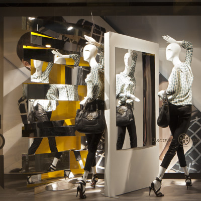 "de Bijenkorf ""Eye on Fashion"" Window Display by StudioXAG"