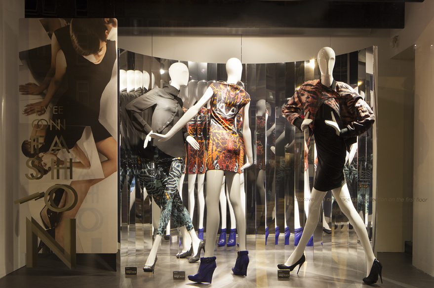 de bijenkorf quoteye on fashionquot window display by studioxag