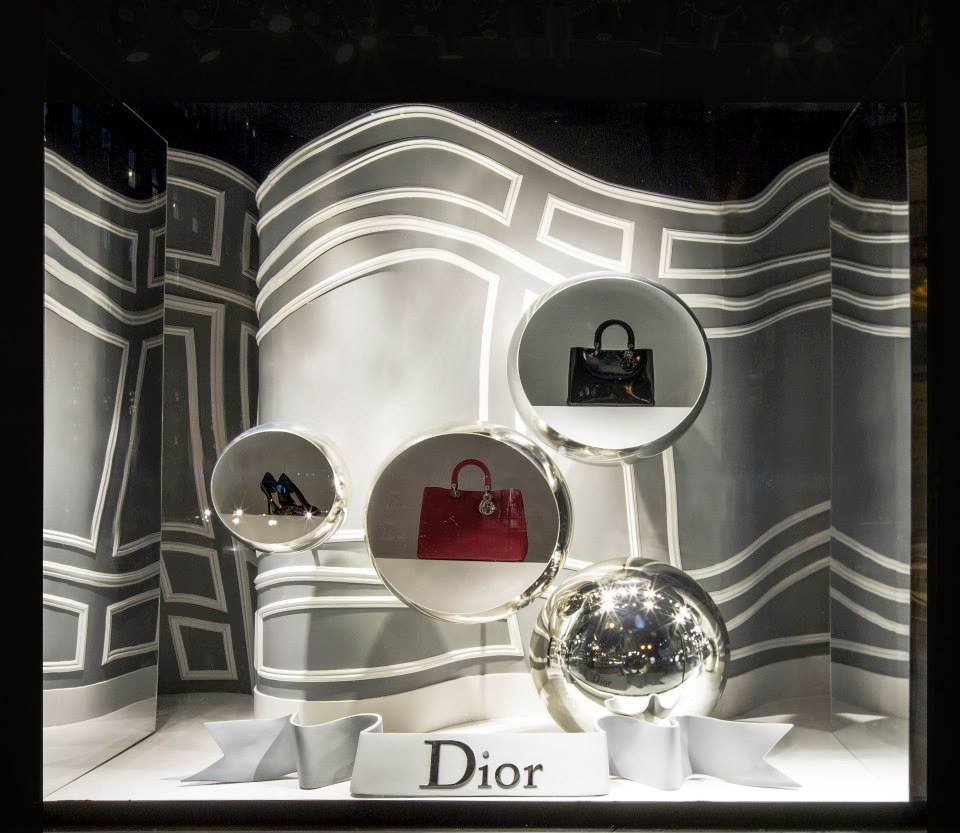 Morphed Dior Window Displays At Saks Fifth Avenue Best