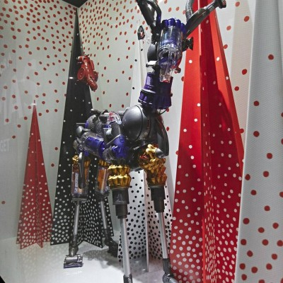 John Lewis Christmas Window Display 2013