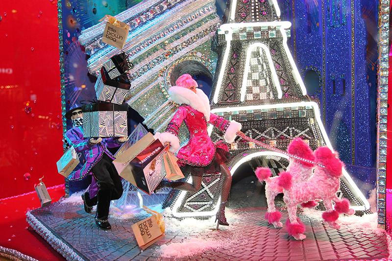 """All Wrapped Up In"" Bloomingdale's Holiday Window Displays by Spaeth Design"