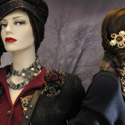 Chanel Pre-Fall Window Display 2013