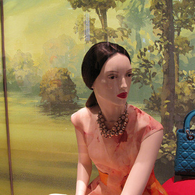 "Dior ""Secret Garden"" Pre-Fall Window Display 2013"