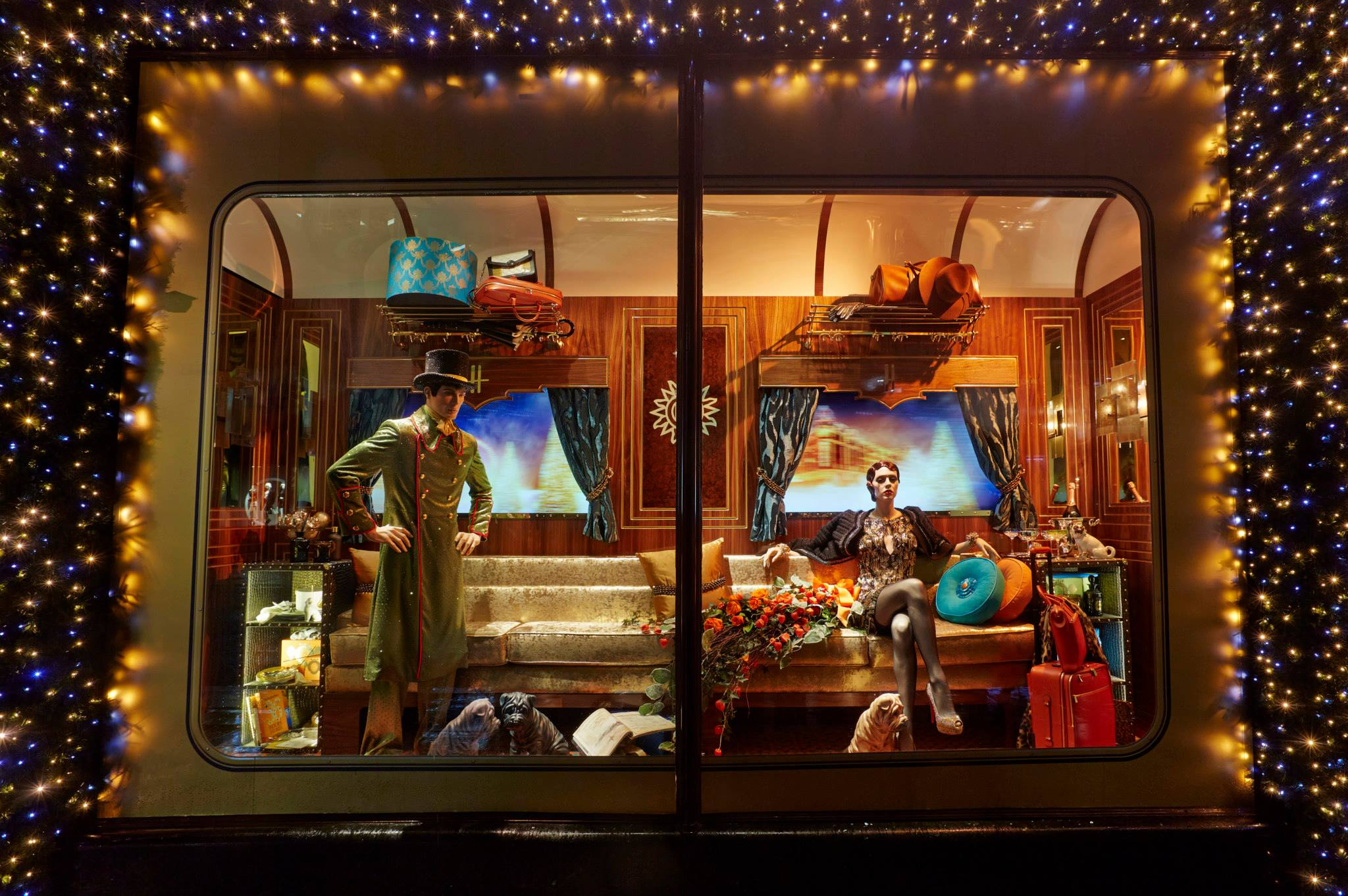 The Harrods Express Christmas Window Display 2013 Best