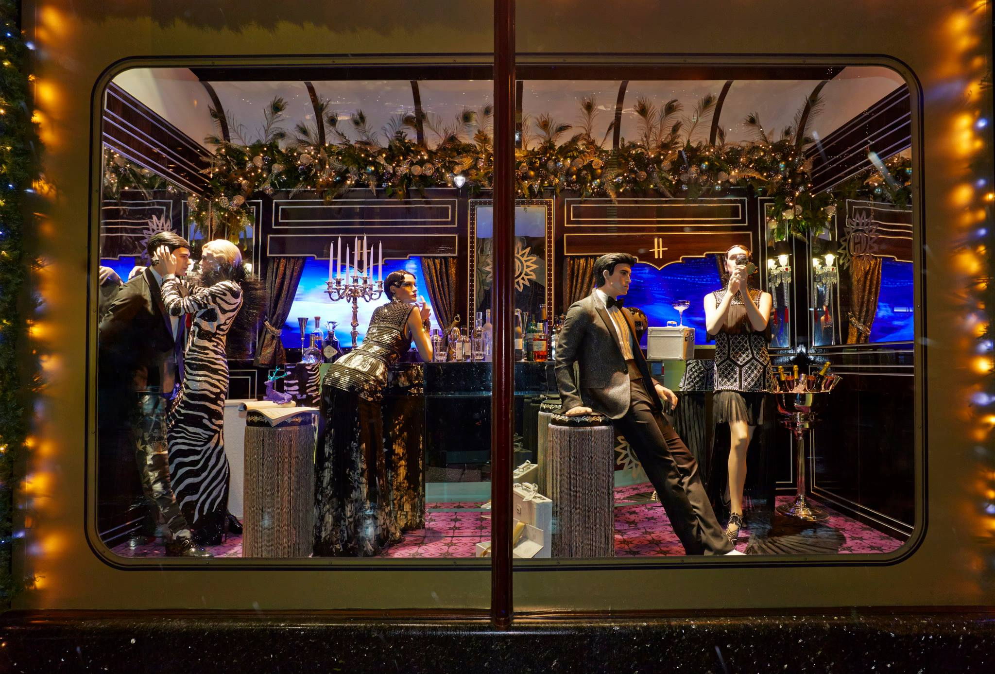 The harrods express christmas window display 2013 best for Boutique deco