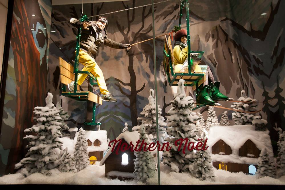 Holt Renfrew Quot Nothern No 235 L Quot Holiday Window Display 2013